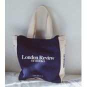 TD0 LONDON REVIEW™ Płócienna torba shopperka. 2 kolory