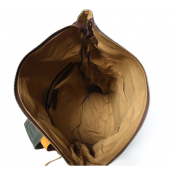 P5 WAX VINTAGE MARK I™ Plecak unisex płótno + skóra naturalna A4 - ciemnoszary