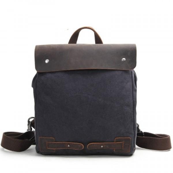 0394c10cf2981 P15 CYRIELLE™ Damski plecak płótno - skóra naturalna. Kolor  biały ...