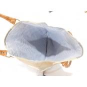 """TD13 ANCHOR TOTE™ Torba na ramię płótno - skóra naturalna 16"""""""