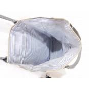 """TD21 VINTAGE TOTE™ Torba na ramię płótno - skóra naturalna 13"""""""